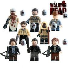The Walking Dead Minifigures 8pcs Set - TV Series