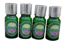 4 x10 ml. Liquid Air Freshener Perfume Refill Auto Home -2 Vanilla and 2 Rose