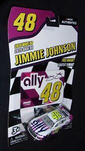 Jimmie Johnson  #48 ally 1:64 Nascar Authentics 2020 Wave 8 Chevrolet