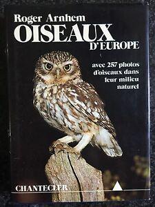 OISEAUX D'EUROPE - Roger Arnhem - CHANTECLER 1977