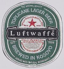 Bundeswehr Aufnäher Patch KFOR SFOR Luftwaffe Kosovo 1999 ..........A4348K