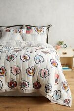 Anthropologie Jovana Full Quilt w/ shams-EUC