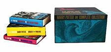 Harry Potter Official UK Collectible Box Set ADULT  Edition ALL 7 Hardcover!