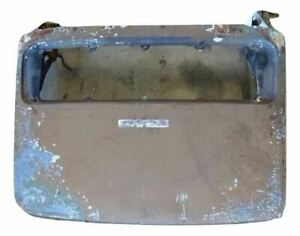 79 Porsche 911 Carrera Coupe Rear Trunk Boot Lid Engine Cover Brown