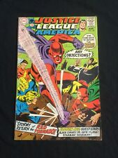 JUSTICE LEAGUE OF AMERICA #64 Red Tornado Issue (VG)
