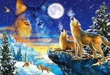 NEW! Castorland Howling Wolves 1000 piece wolf fantasy jigsaw puzzle