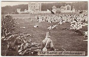 ALDERSHOT MILITARY TATTOO - The Battle Of Omdurman - Sudan - c1930s era postcard