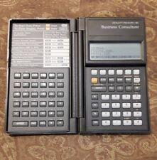 Hewlett Packard HP-18C Business Consultant Calculator