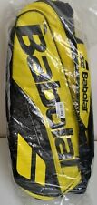 Babolat pure tennis bag 12 pack yellow black