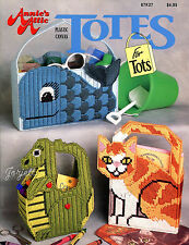 Totes for Tots ~ Tote Bags for Tots ~ Totebags, Annie's plastic canvas patterns
