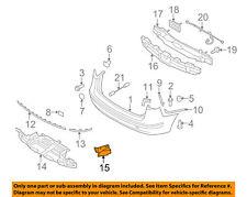 866952L300 NEW HYUNDAI OEM Rear LH Bumper Under Cover Bracket for 09-12 Elantra