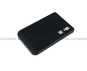 "New 250 GB external Portable 2.5"" USB 2.0 hard Drive HDD POCKET SIZE black"