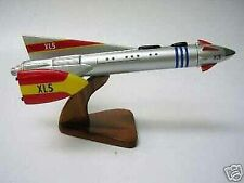 XL-5 Fireball Rocket Anderson XL5 Airplane Desk Wood Model Small New