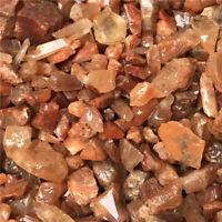1/2lb Natural Rough Red Quartz Crystal Mineral Specimen / Energy Healing