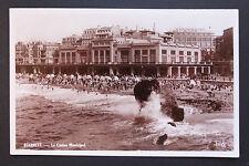 Carte postale ancienne CPA BIARRITZ - Le Casino Municipal