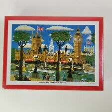 Andrew Murray 300 Piece Jigsaw Puzzle -Westminster  Bridge And Palace Japan VTG