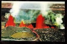c1950-60 Nani Li'i eruption Mauna Loa volcano Hawaii national park postcard