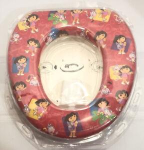 NEW! NOS! Sealed Ginsey Dora The Explorer Soft Potty/Toilet Training Seat.