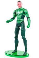 """DC Green Lantern Movie Masters SINESTRO w/ Base 6"""" Action Figure Mattel 2011"""