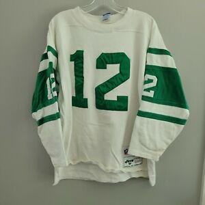 Rare VTG 90s Champion New York Jets Joe Namath 12 Throwback Jersey Mens XL Sewn
