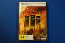 Age of Empires 3 The Asian Dynasties - PC - Free Postage !!