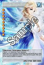 "Frozen Elsa Yugioh Orica ~ ""Trishula, Dragon Of The Ice Barrier"" ~"