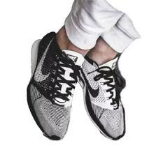Nike Flyknit Racer Orca Black White