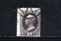 ESTADOS UNIDOS/USA 1873 USED SC.162 Henry Clay