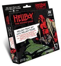 Vallejo VLJ-70187 Hellboy Model Color Paint Set (8 Colors w/ Figure)