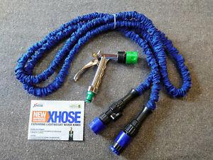 Brand new x hose 25ft inc spray gun...25ft xhose-tap adapter-spray gun- WOW !