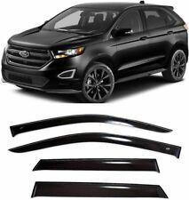 For Ford Edge ll 2015- Window Visors Side Sun Rain Guard Vent Deflectors