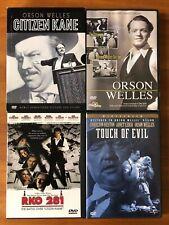Orson Welles 5-Dvd Lot - Citizen Kane, Touch of Evil, Rko 281 - The Stranger