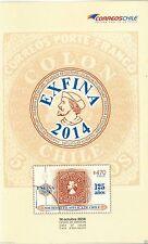 Chile 2014 Brochure Exfina Exposicion Filatelica Nacional