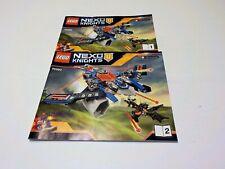 Lego 70320 Nexo Knights Aaron Fox's Aero-Striker Instruction Manual Only