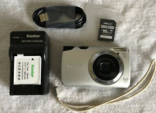 Canon PowerShot A3300 IS 16.0MP Digital Camera -Silver~~Nice~~16GB SD~Bundle~