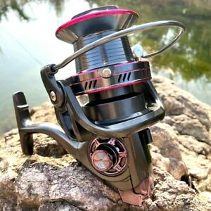 High Speed 4.0:1 Spinning Fishing Reel Roller Coil Wheel 13 BB Alloy Handle Carp