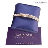 Bracciale donna oro argento Swarovski Elements originale G4Love cristalli strass