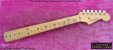 "Vintage 1958 Fender Musicmaster Neck - Original Finish & Frets FAT ""V"" PROFILE"