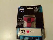 HP 02 magenta Ink Cartridge C8772WN Genuine sealed box new Exp SEPT 2016 sealed