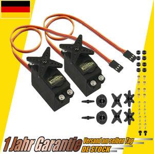 2 Stück Metall Getriebe 12KG Drehmoment High Speed Analog Servo für RC/D MG945