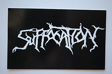 Suffocation Sticker Decal (436) Metal Rock Carcass Slayer Cryptopsy Car Window
