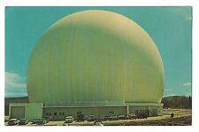 EARTH STATION AT&T The Radome Big Bubble Big Ear Andover  MAINE ME Postcard
