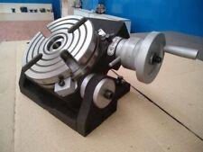 6 Precision Tilting Rotary Table Heavy Duty Mt2 Center Parttsk 150 New