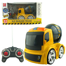 ELECTRIC RC CONSTRUCTION TRUCK RADIO REMOTE CONTROL CAR KID BABY MUSIC LED TOY