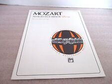 MOZART~ADAGIO IN B MINOR for the Piano~Alfred Publisher 1993