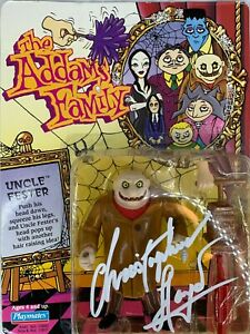 Christopher Lloyd autographed signed The Addams Family Figure PSA COA