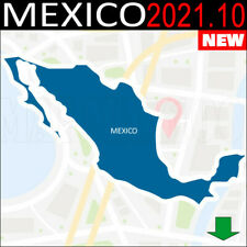 Mexico Navigation Maps Gps 2021.10 For Garmin Devices - Latest Map -