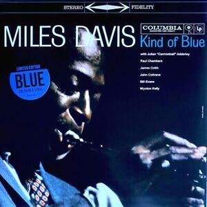 Miles Davis - Kind Of Blue - Limited Edition Blue Coloured Vinyl LP *NEW/SEALED*