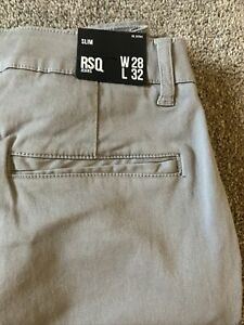 Men's RSQ Slim Jeans 28 X 32 Nwt