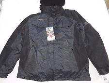 MENS 3 IN 1 winter hooded COAT JACKET = zeroXposur = SIZE small = new = ss25